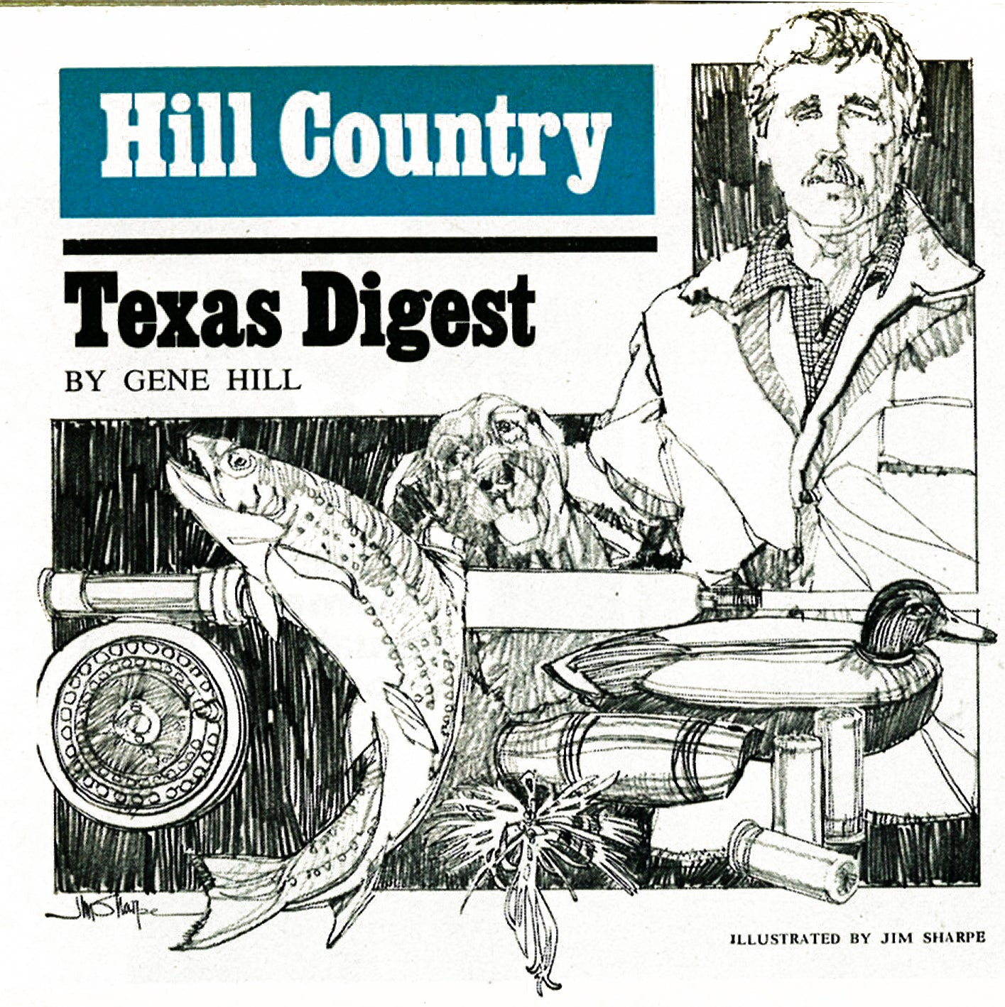 A clipping of Hill Country Texas Digest from Field & Stream Magazine.