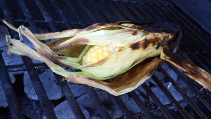 How To Grill Sweet Corn
