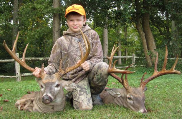Two for Trey: 12-Year-Old Tags 275 Inches of Antler During 1-Day Va. Youth Season