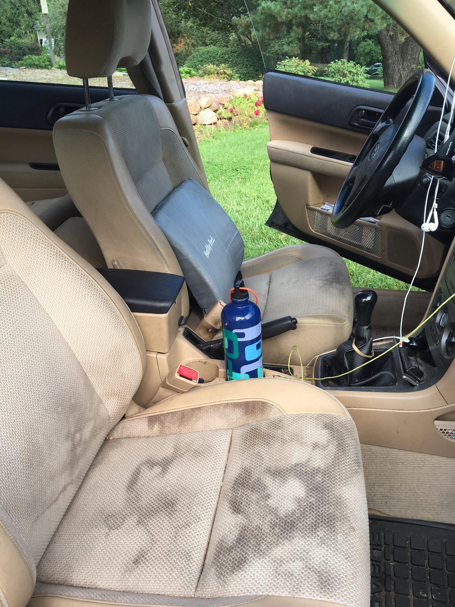 subaru forester; interior car