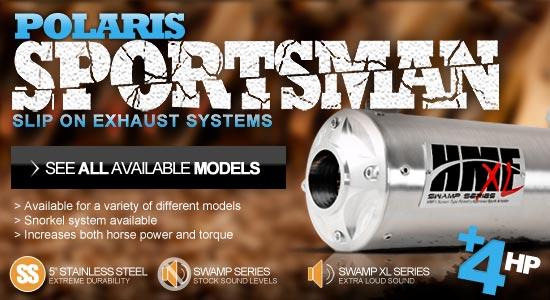 New HMF Polaris Sportsman Exhaust Systems