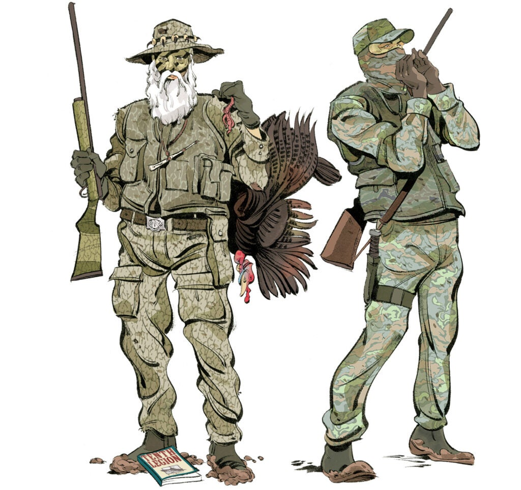 types of turkey hunters