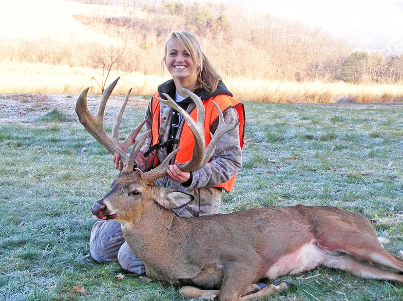 A Sweet 16-point PA Buck for a Sweet 16 Hunter