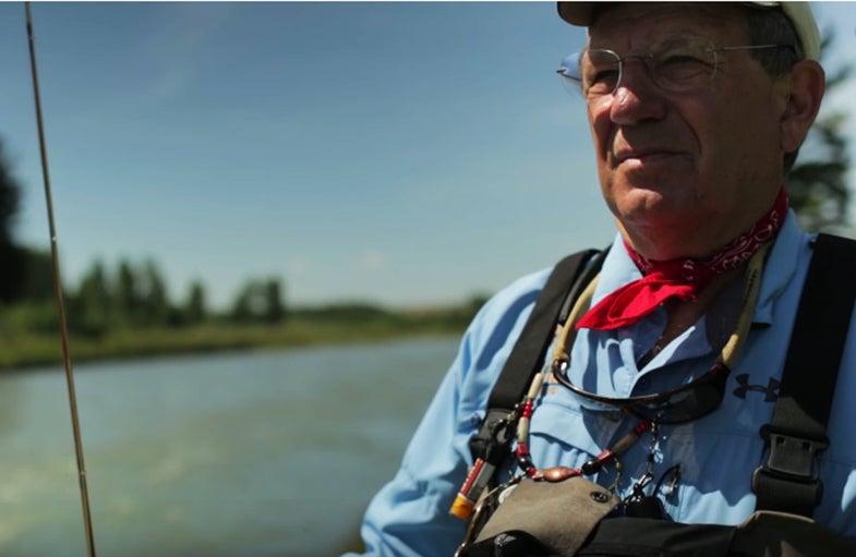 New Short Film About Angling Legend, Conservationist Jack Dennis