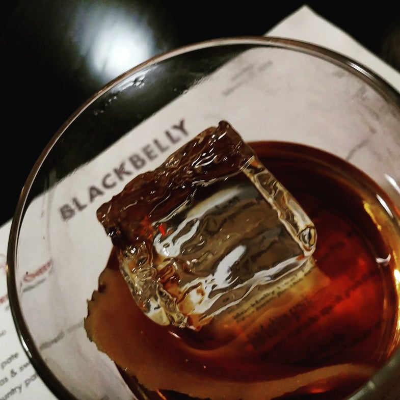 Cocktail Hour: How to Mix the Black Manhattan