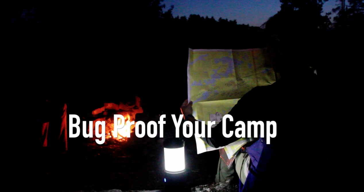 Tips from Quetico: How to Bug Proof Your Campsite