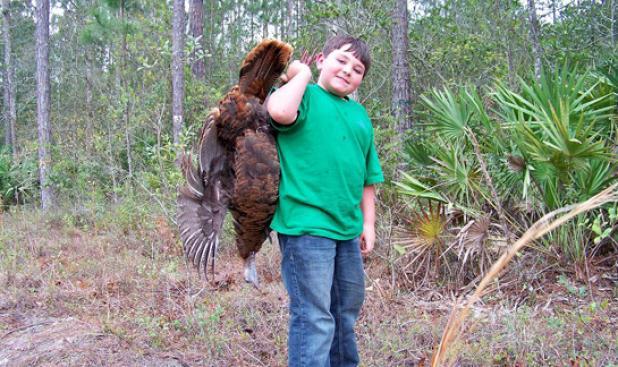 How to Teach a Kid to Turkey Hunt