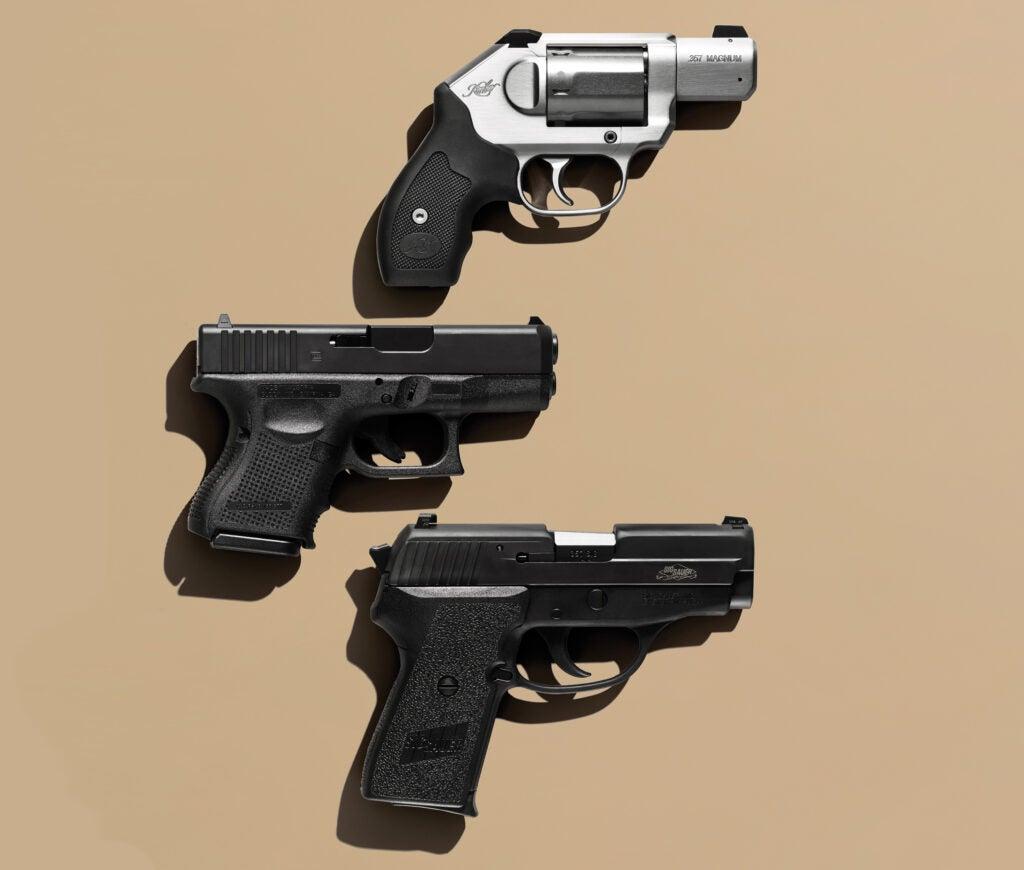 top handguns, best handguns, self-defense guns