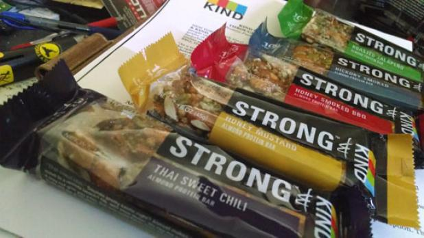 Strong and Kind Bars: A Savory New Snack Alternative