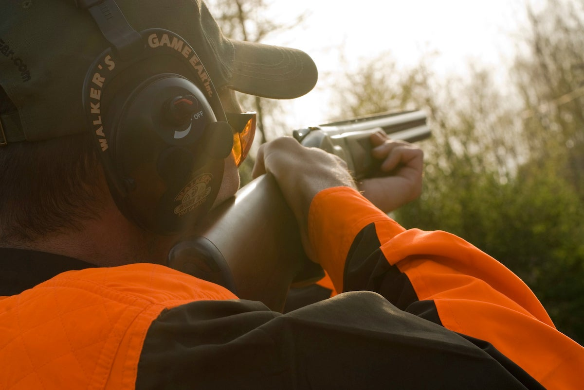 sporting clays practice