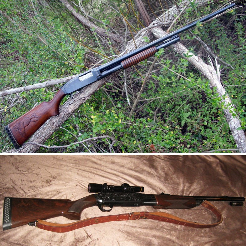 Gunfight Friday: Browning BPS vs. Savage 1921