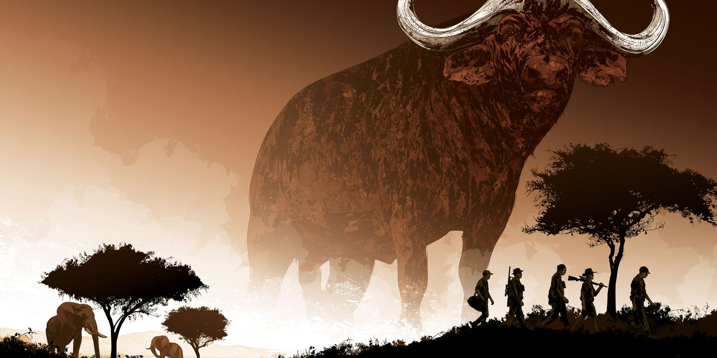 Ghosts of Africa illustration by Kako