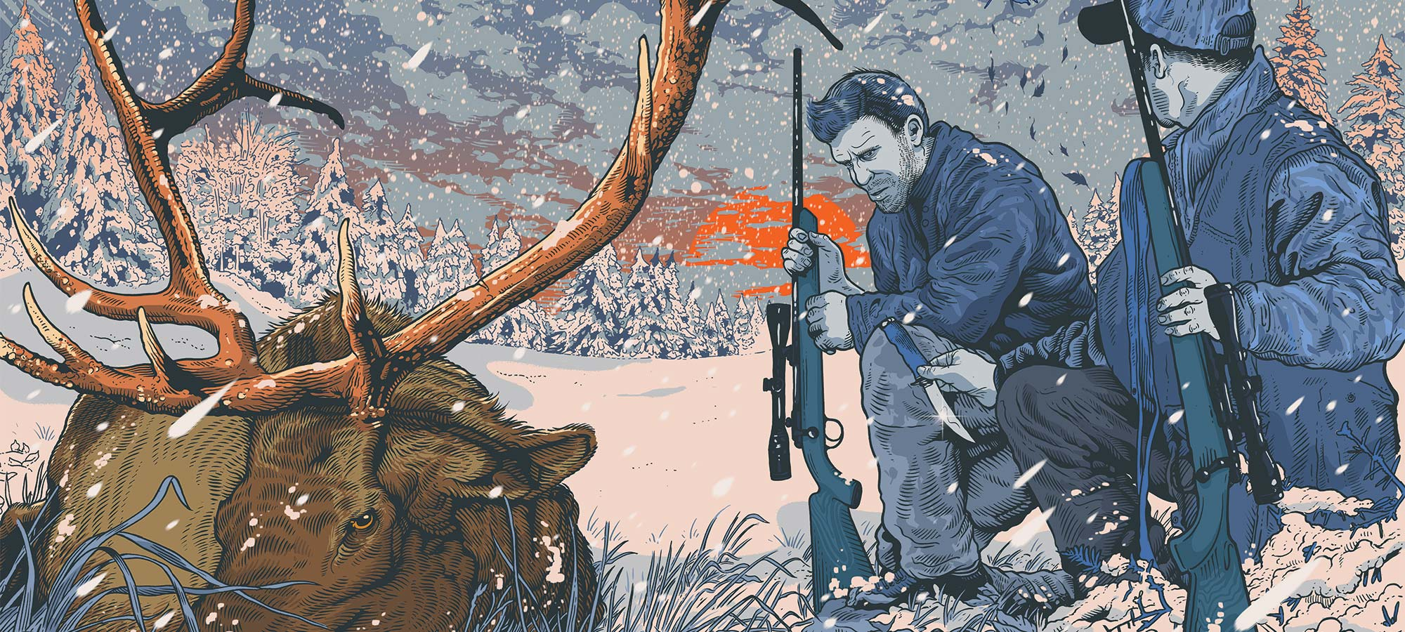 david petazal's life through hunting knives
