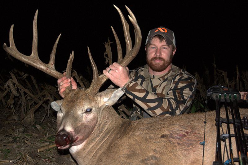 """It's Now or Never for a Pre-Rut Buck, and One Kansas Hunter Says """"Now"""""""