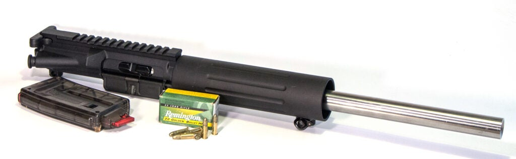 .22 Long Rifle upper