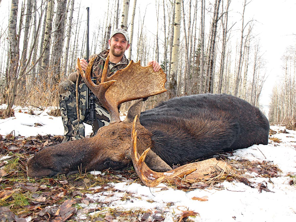 Will Brantley with a prized Alberta Moose