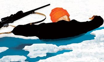 Close Call: A Deer Hunter Falls Through the Ice