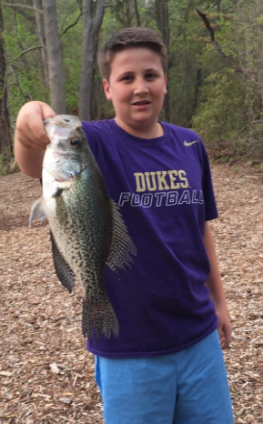 Kid Catches and Releases Possible Record Crappie