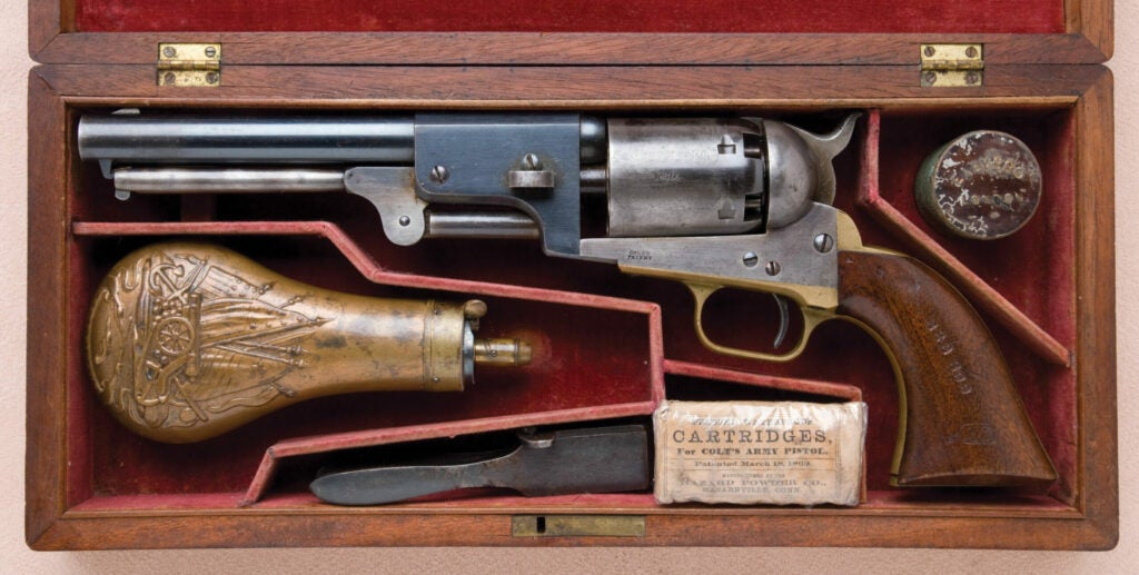 httpswww.fieldandstream.comsitesfieldandstream.comfilesimport2014importImage2011photo38356Fine_Cased_Historic_and_U.S._Martially_Marked_Colt_Third_Model_Dragoon_Revolver_with_Smithsonian_Institution_Stamping_222_399_on_Grips_-_2.jpg