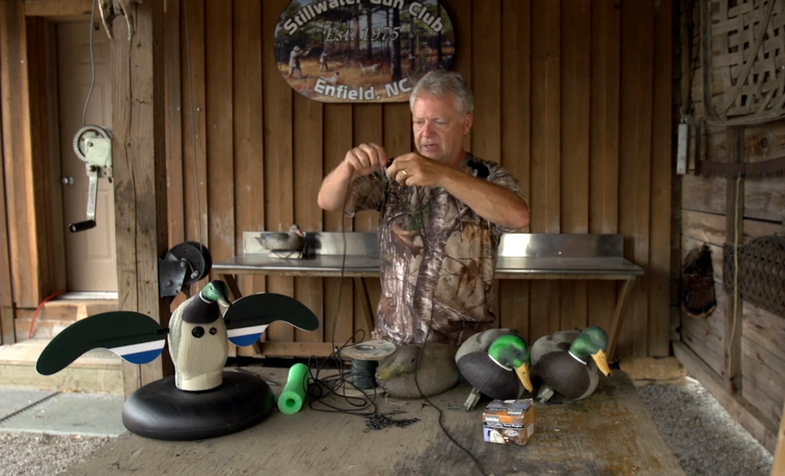 Total Outdoorsman: How to Make a Decoy Jerk Cord