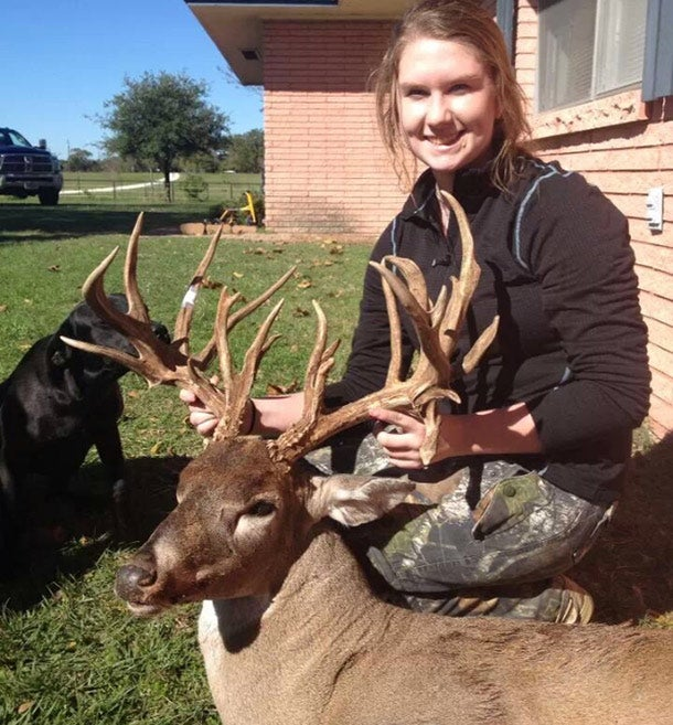 Big Buck: 15-Year-Old Texas Girl Shoots a 23-Point, Youth-Record Whitetail