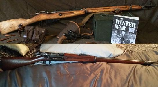 Gunfight Friday: Mosin-Nagant vs Springfield .30-40 Krag