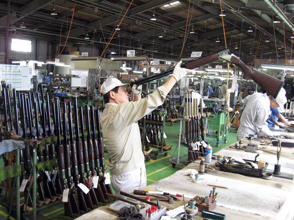 Made in Japan: Take a Tour of the Miroku Shotgun Factory With Phil Bourjaily