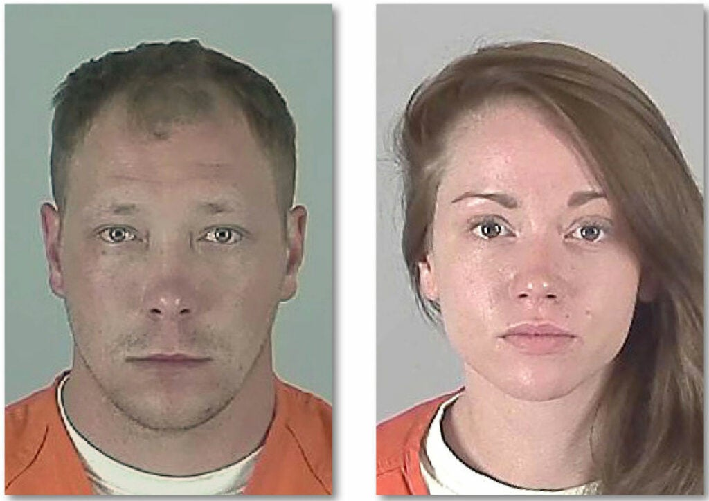 Couple steals fishing gear