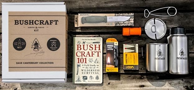 Bushcraft Survive and Thrive Kit; Dave Canterbury; self reliance outfitters