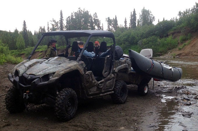 Dispatch from Alaska: Finding Fish with a Raft and UTV