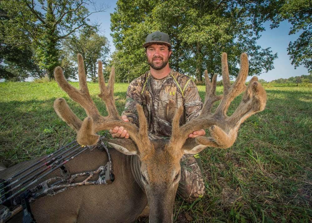 Photos: Bowhunter Tags a Monster Buck in Kentucky
