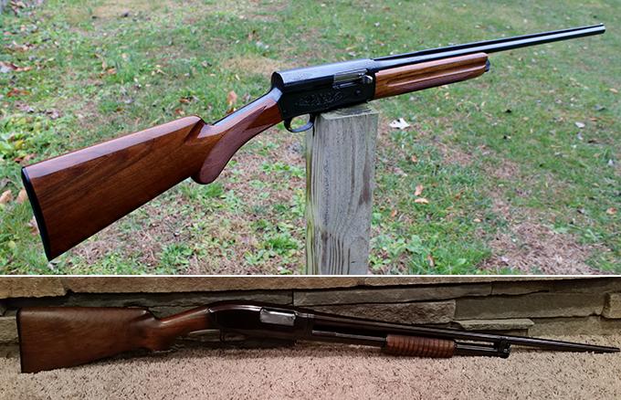 Gunfight Friday: Auto 5 vs. Model 12