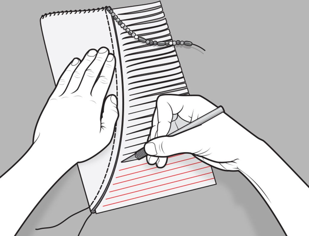 buckskin knife sheath how to