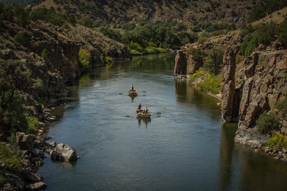 Upper Colorado River in Colorado