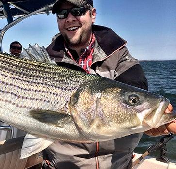 Hook Shots: Jersey Spring Striper Slamfest