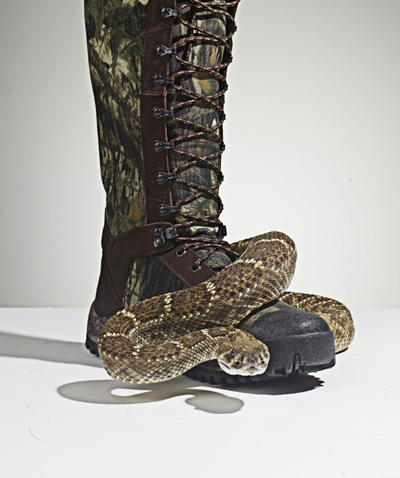 Snake Proof Boots Prevent Deadly Bites