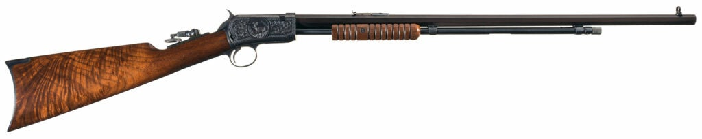 engraved Winchester model 90