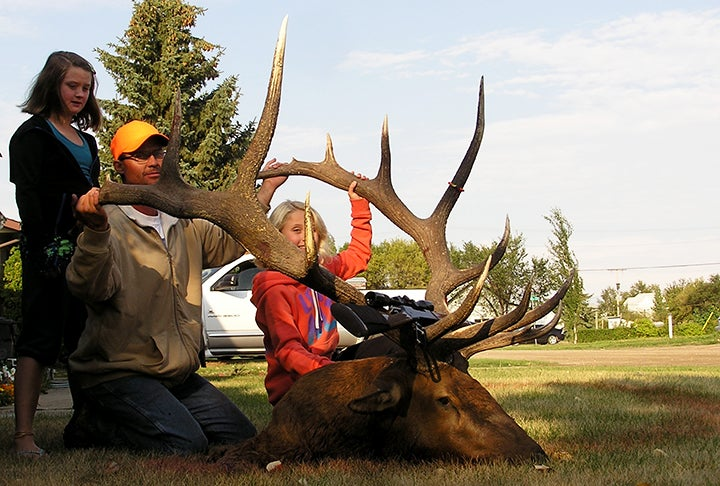 Record Elk: 400-Inch Bull Is New B&C Saskatchewan Top Typical