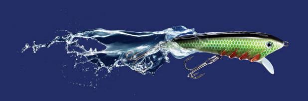 pirana bass fishing lure