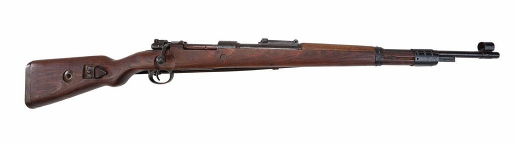 The Mauser Model 98 on a white background.