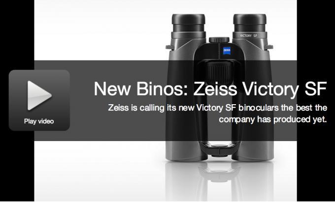 New Optics: Zeiss Victory SF Binoculars
