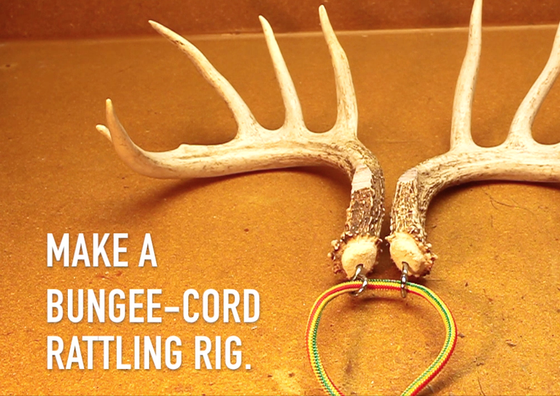 Sportsman's Notebook: Make a Bungee-Cord Rattling Rig