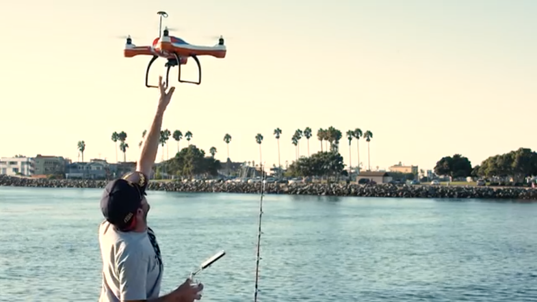 Get a Drone to Go Fishing for You