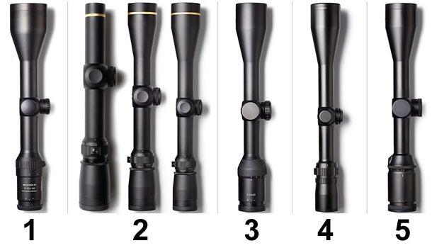 Petzal's picks of four mid-range riflescopes.