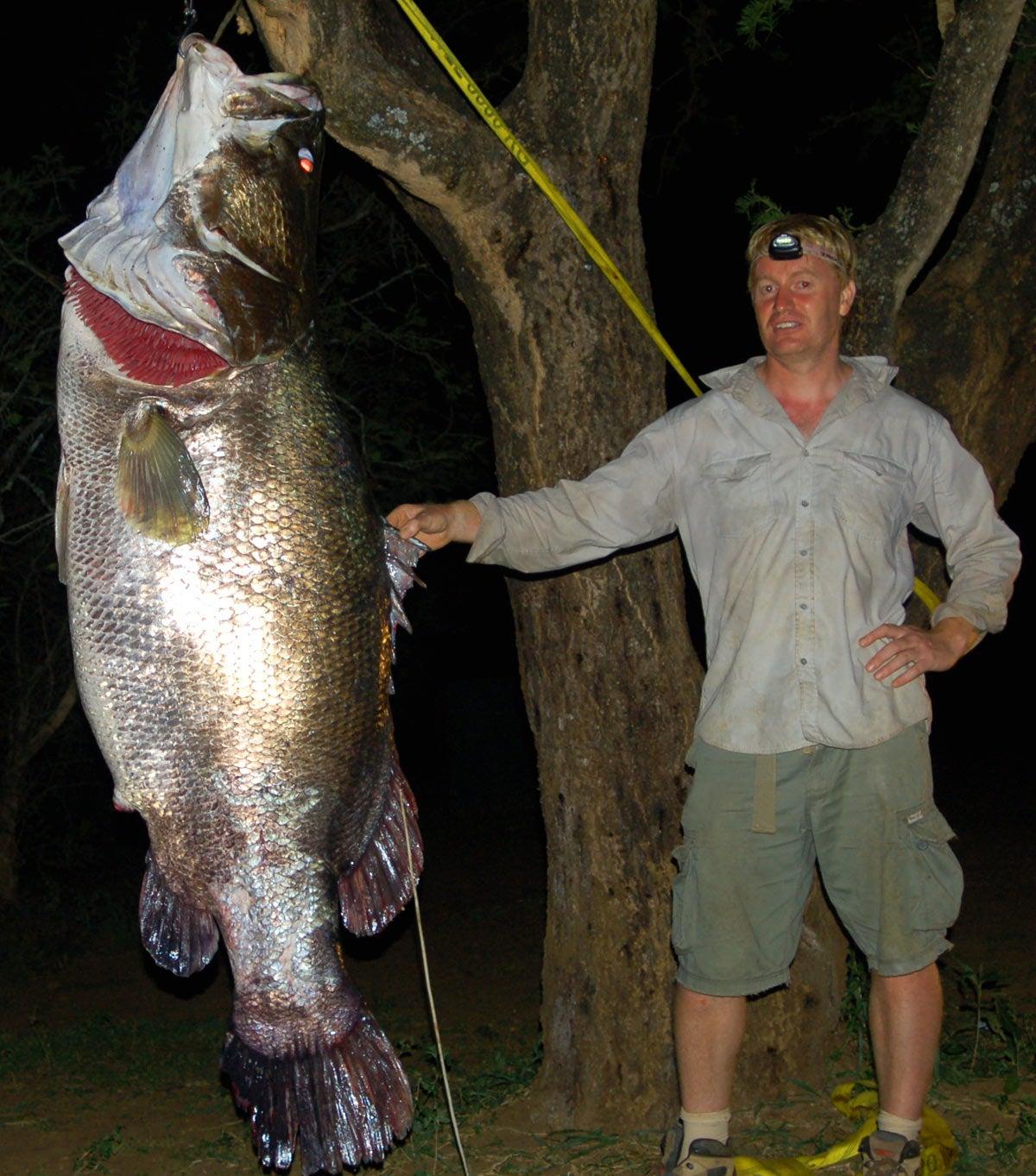Man vs. Crocodile vs. Giant Nile Perch: An African Fishing Adventure