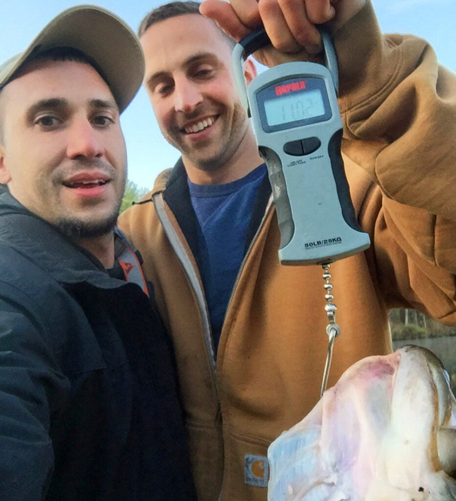 record largemouth, record bass, new record, Rhode Island