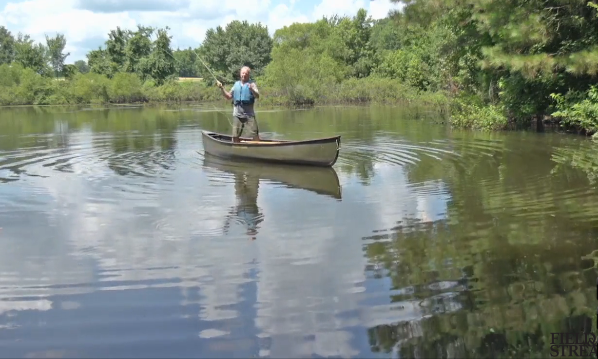 Video: How to Fly Cast from a Canoe