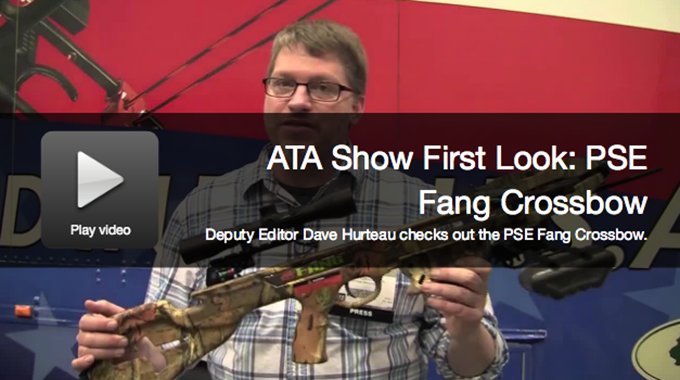 ATA Show First Look: PSE Fang Crossbow