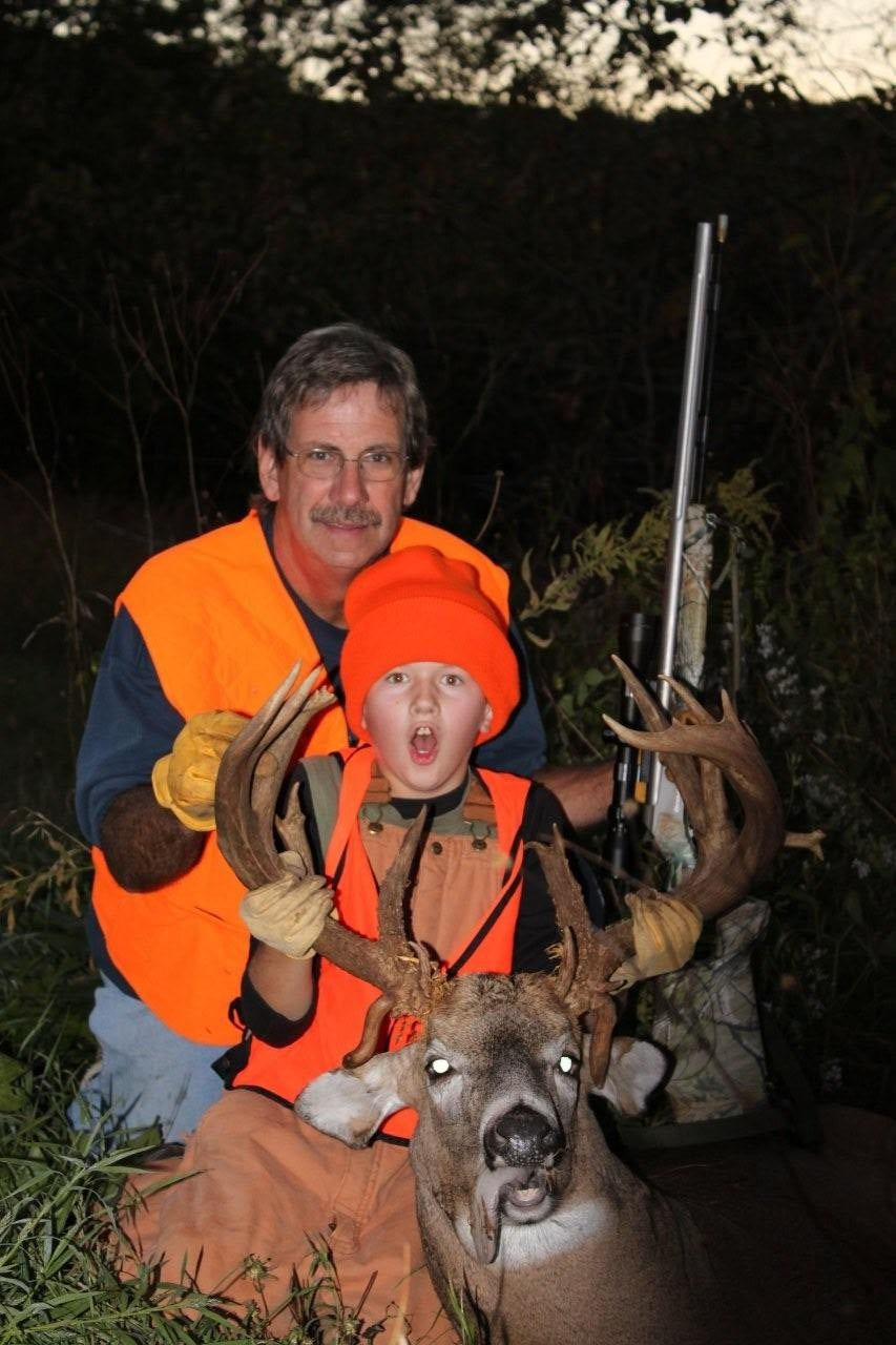Iowa 10-year-old Downs Big Buck With a Muzzleloader His First Time Out