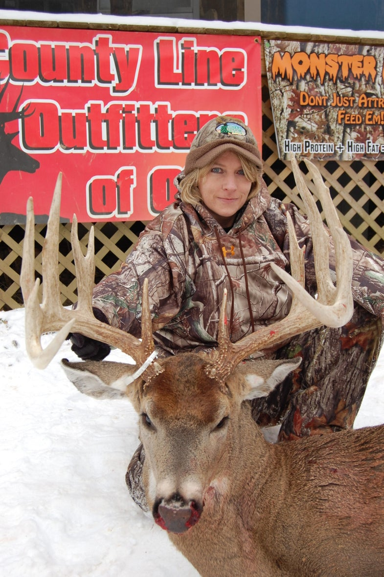 First-Time Deer Hunter May Have Broken The Ohio Women's Muzzleloader Record